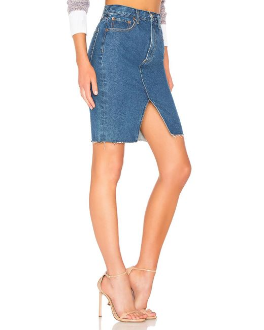 a9177c341eb5 Lyst - Rag   Bone Suji Skirt in Blue - Save 9%
