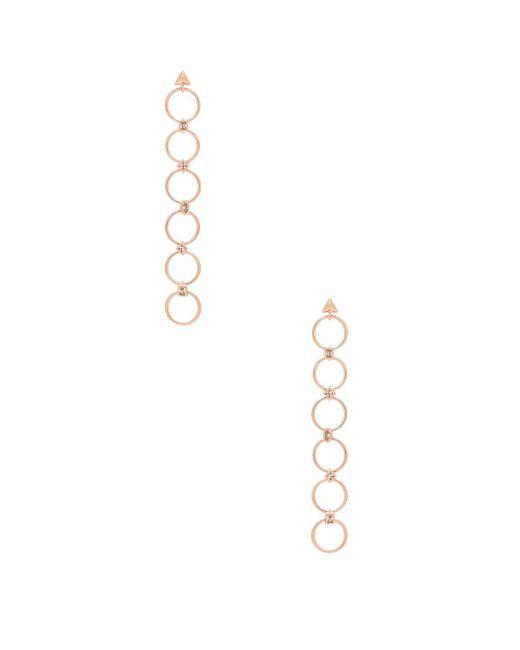 Luv Aj | Metallic The Scattered Gem Loop Earrings | Lyst