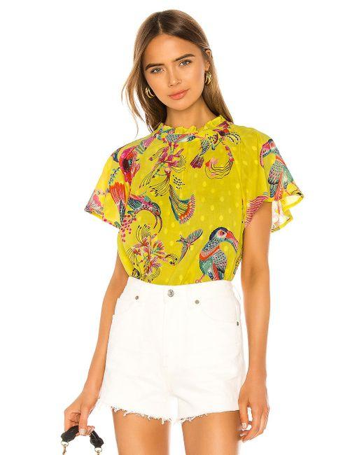brand: Banjanan Joyful ブラウス Yellow