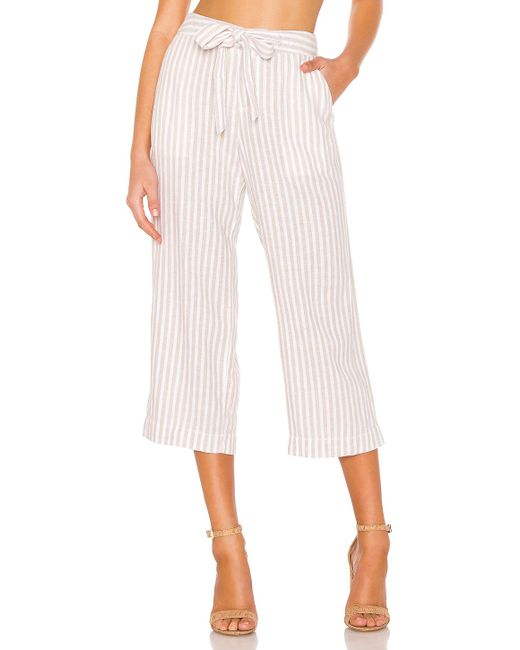 Sanctuary Multicolor Sasha Stripe Crop Pant