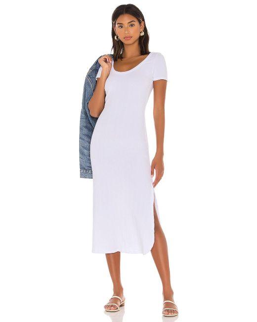 Vitamin A Catalina Tシャツドレス White