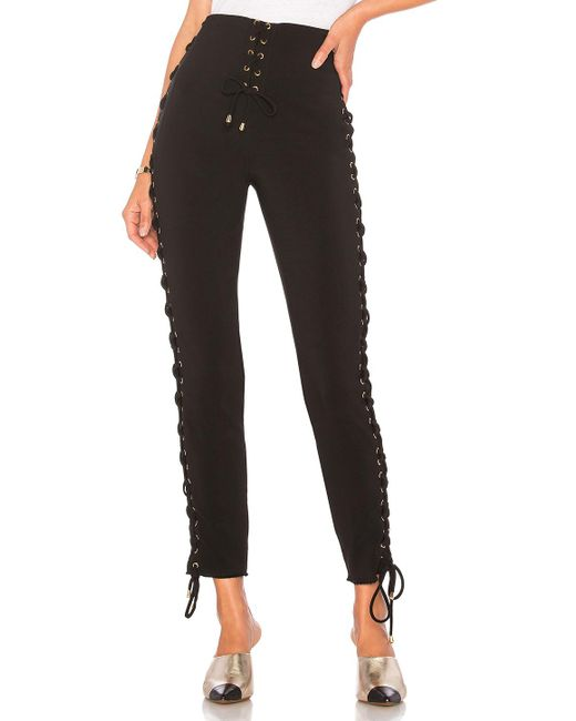 House of Harlow 1960 - X Revolve Stevie Pant In Black - Lyst