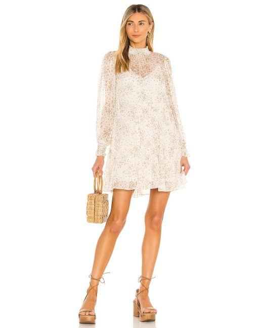 Мини Платье Brigita В Цвете Светлый Cami NYC, цвет: Natural