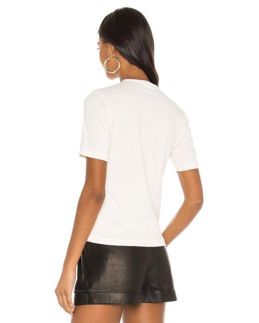 Re/done 70s Slim Tシャツ White
