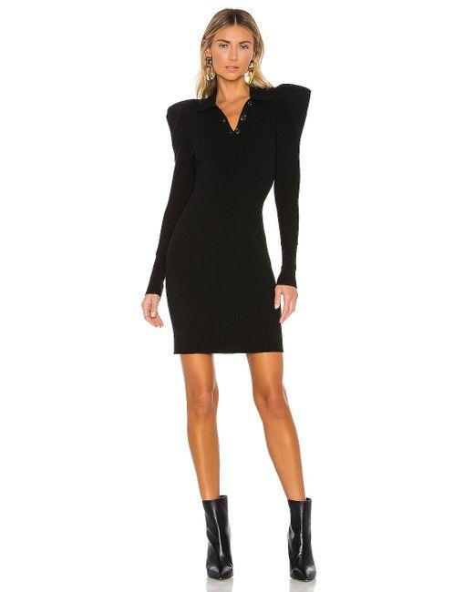 A.L.C. Black Amina Dress