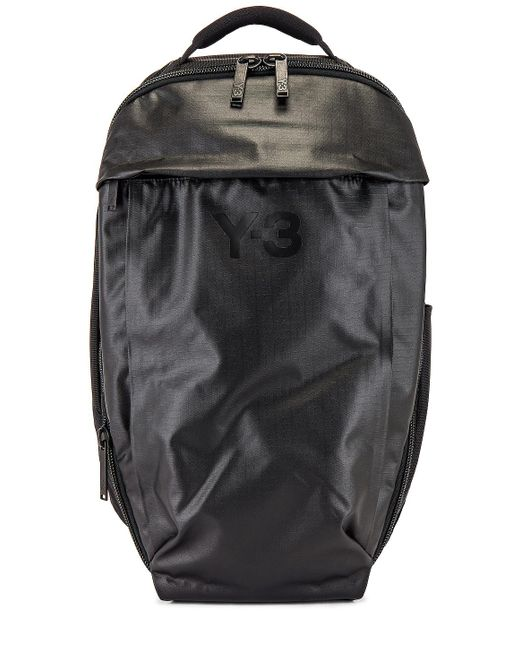 メンズ Y-3 バックパック Black