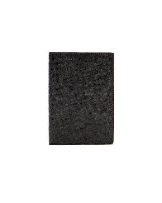 メンズ Common Projects 二つ折りパスポートケース Black