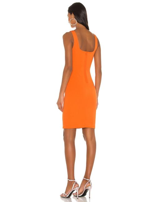 Alice + Olivia Addie ドレス Orange