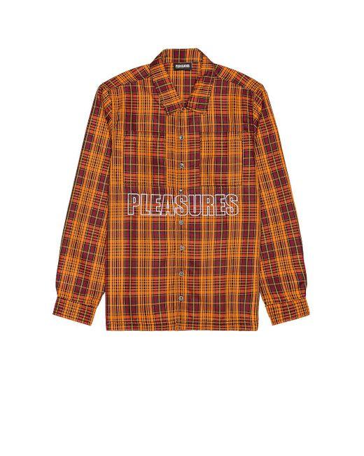 メンズ Pleasures シャケット Orange