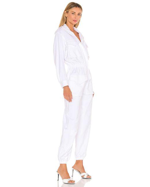 Norma Kamali ジャンプスーツ White