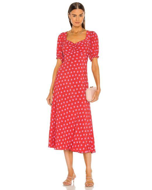 Diane von Furstenberg Jade ドレス Red
