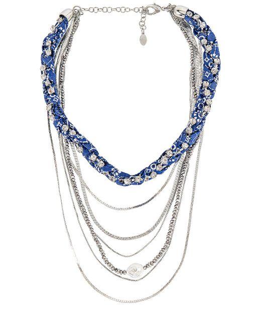 Многорядное Ожерелье В Цвете Серебряный 8 Other Reasons, цвет: Metallic
