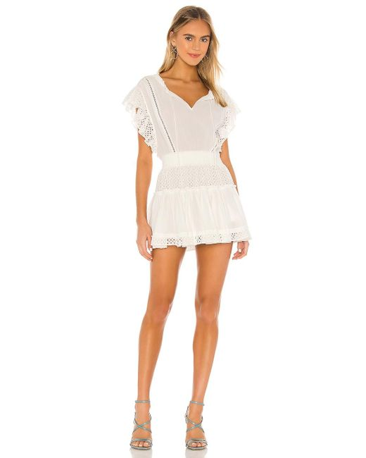 MISA Los Angles Sarika ドレス White