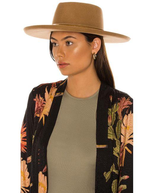 Шляпа Val Diamond В Цвете Пустыня Lack of Color, цвет: Brown