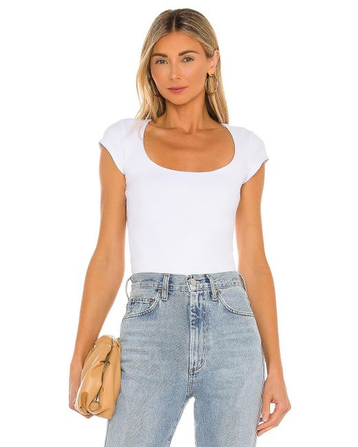 Free People In Her Power Tシャツ White