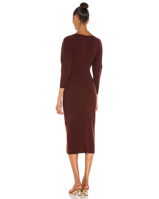 A.L.C. Red Giselle Kleid