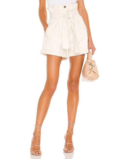 Bardot Paperbag ショートパンツ White