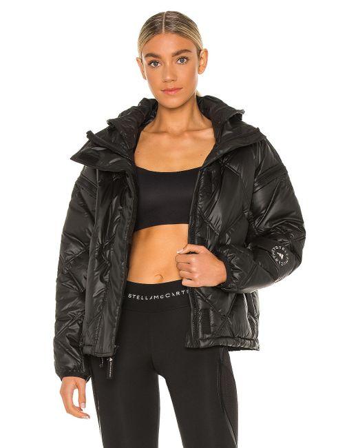 Куртка Asmc В Цвете Черный Adidas By Stella McCartney, цвет: Black