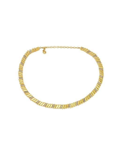 Ожерелье Pave В Цвете Золотой BaubleBar, цвет: Metallic