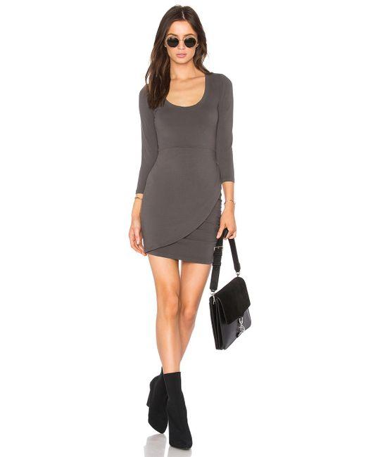 Lamade - Gray Izzy Dress - Lyst