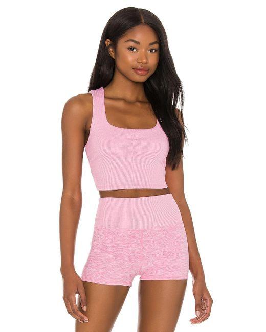 Alo Yoga Soft タンクトップ Pink