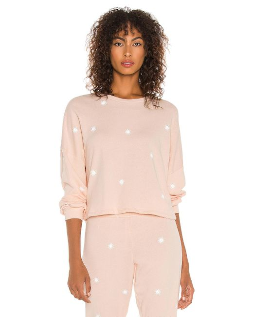 Michael Lauren Pink Fairfax Classic Pullover