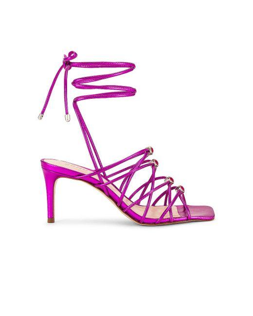 Босоножки Ritta В Цвете Яркий Фиолетовый Schutz, цвет: Purple