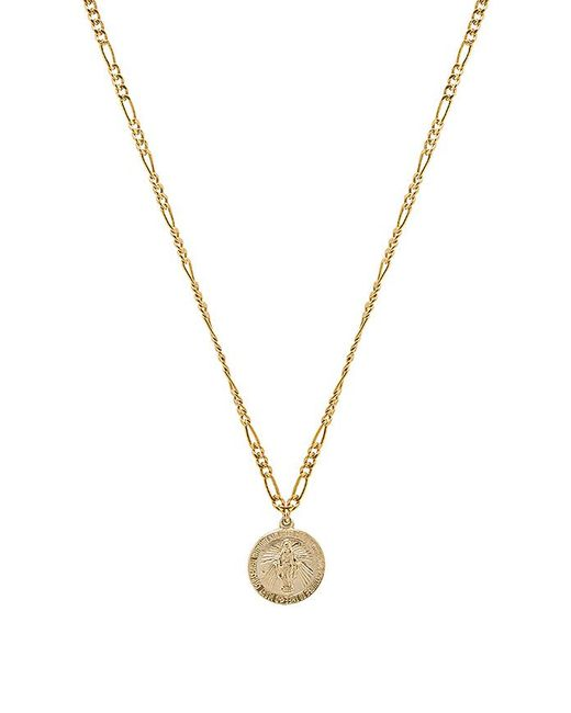 Child Of Wild - Metallic Pray For Us Mary Necklace - Lyst