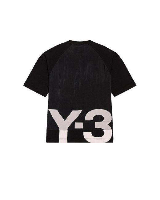 メンズ Y-3 Ch3 Gfx Tシャツ Black