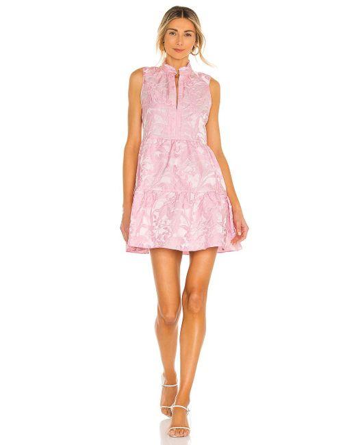 Amanda Uprichard ミニドレス Pink