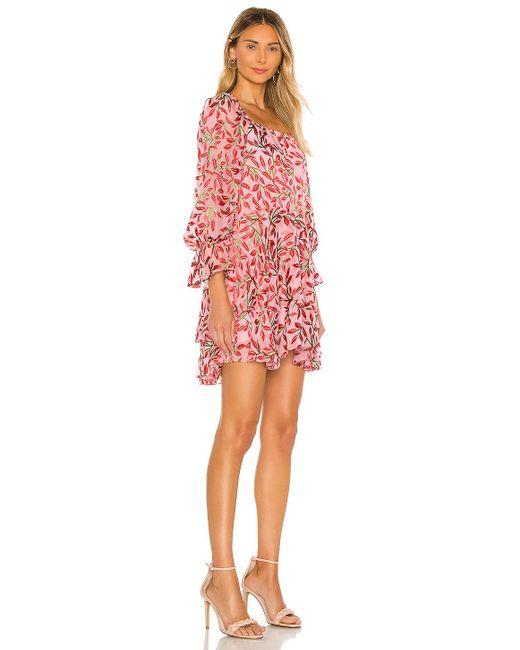Alice + Olivia Debra ドレス Pink