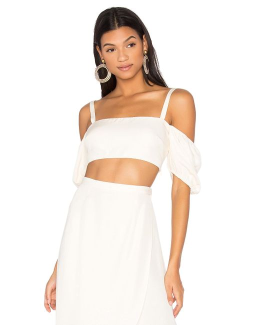 LPA - White Top 147 In Ivory - Lyst