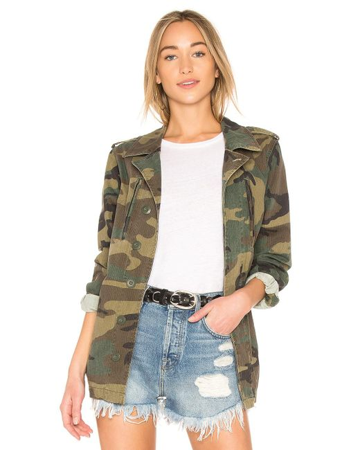 Alpha Industries French Field Coat Green