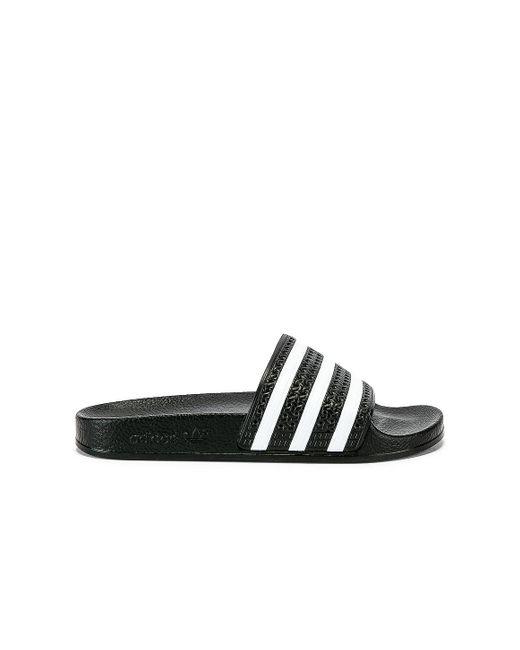 Adidas Originals Adilette スライド Black