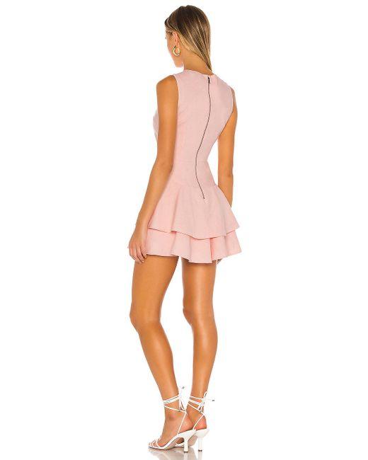 Alice + Olivia Palmira ドレス Pink