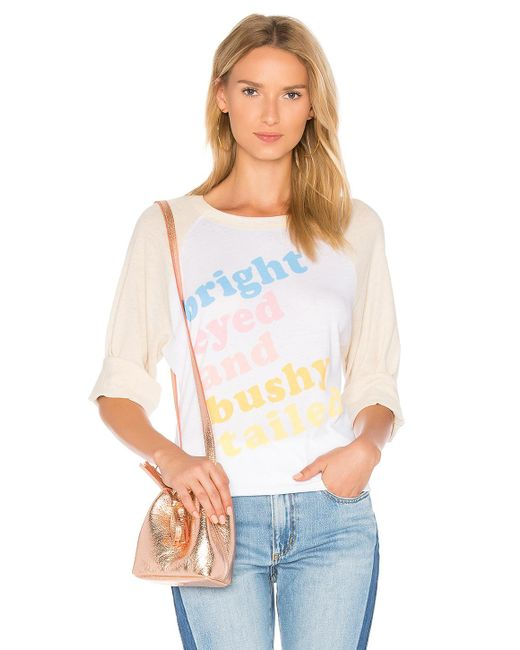 Wildfox | White Bright Eyed Tee | Lyst