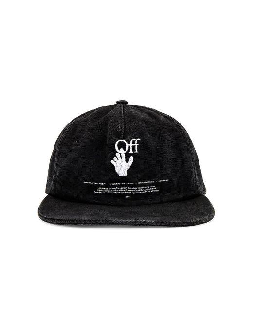 Шляпа В Цвете Черный Off-White c/o Virgil Abloh для него, цвет: Black