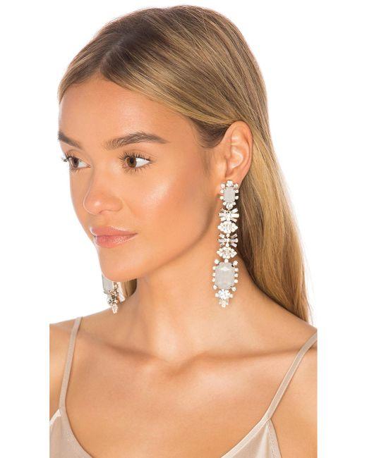 Elizabeth Cole - Multicolor Phee Earrings - Lyst