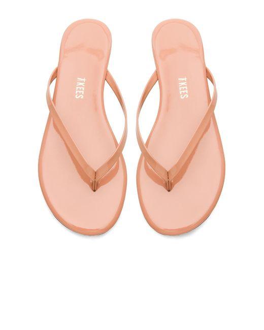 TKEES Foundations Gloss サンダル Pink