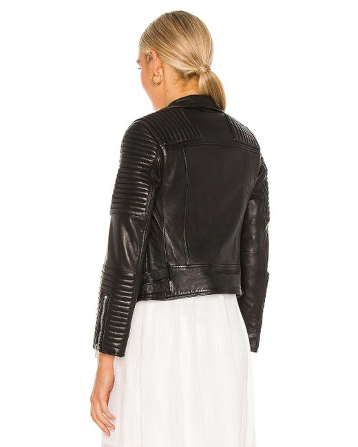 AllSaints Estella ライダースジャケット Black