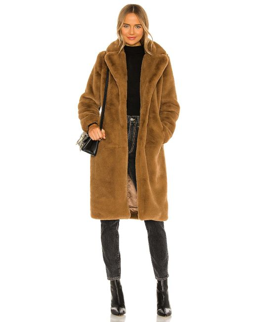 Пальто Siena В Цвете Верблюд Apparis, цвет: Natural