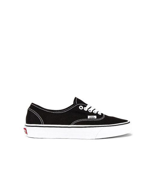 Кроссовки Authentic В Цвете Черный Vans, цвет: Black