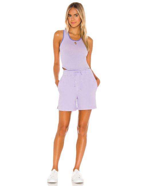 Frankie's Bikinis Messman タンクトップ Purple
