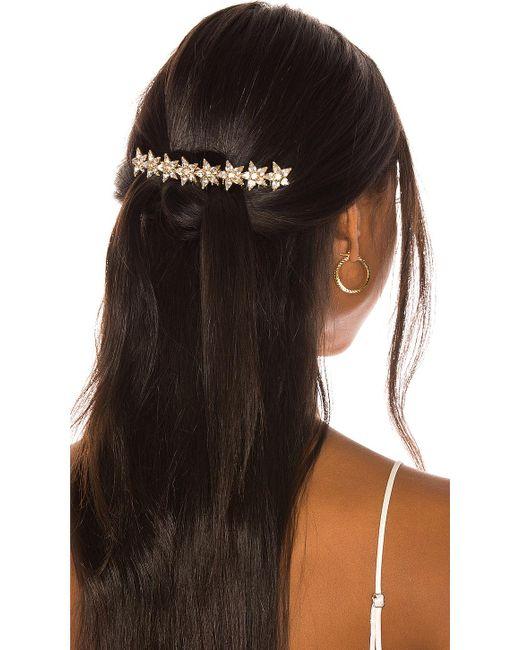 Elizabeth Cole Metallic Meryl Hair Comb