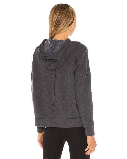 Free People Work It Out パーカー Black