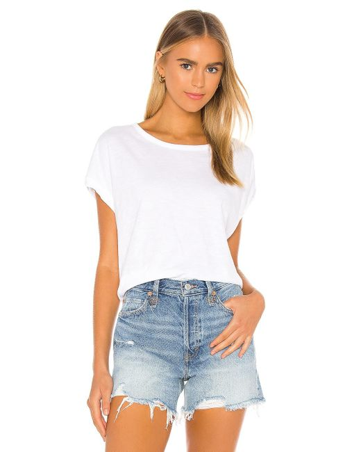 Free People You Rock Tシャツ White