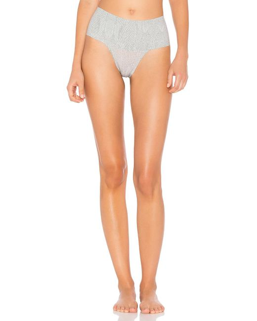 Spanx   Gray Undie-tectable Thong   Lyst