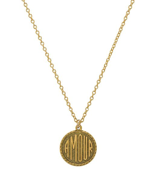 Natalie B. Jewelry - Metallic Amour Charm Necklace - Lyst