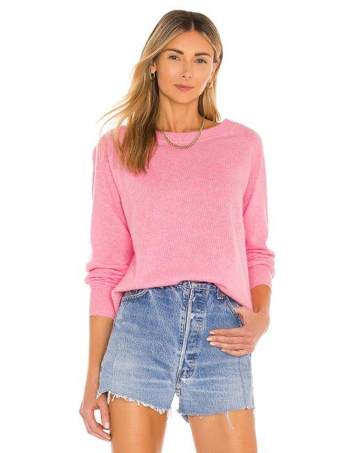 White + Warren スウェットシャツ Pink