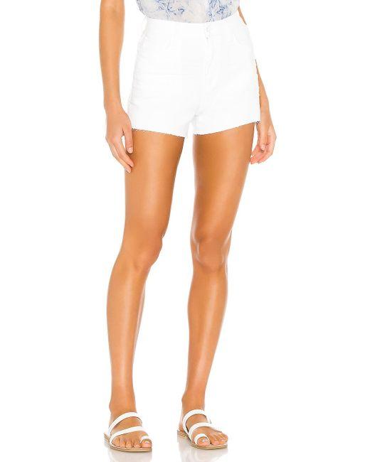 PAIGE Margot デニムショートパンツ. Size 31. White